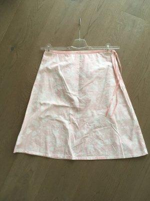 Zero Circle Skirt white-pink cotton