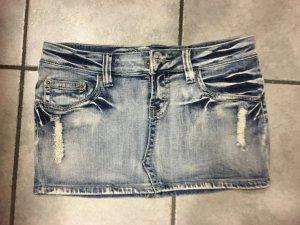 Rock Fishbone jeans blau in Größe 40