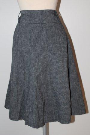 Atmosphere Circle Skirt black-dark blue cotton