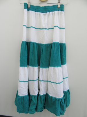 Vintage Flared Skirt baby blue-turquoise
