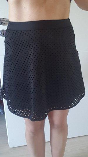 Amisu Skater Skirt black