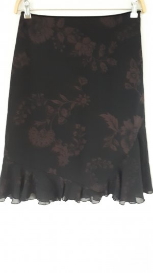 Esprit Broomstick Skirt black-brown