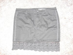 edc Jupe noir coton