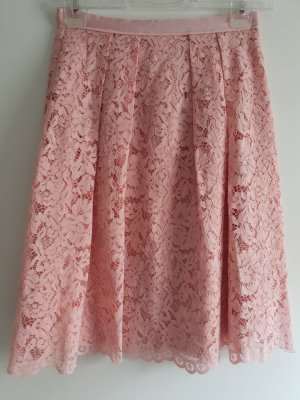 Hallhuber Lace Skirt light pink