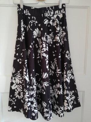 Amisu Falda circular negro