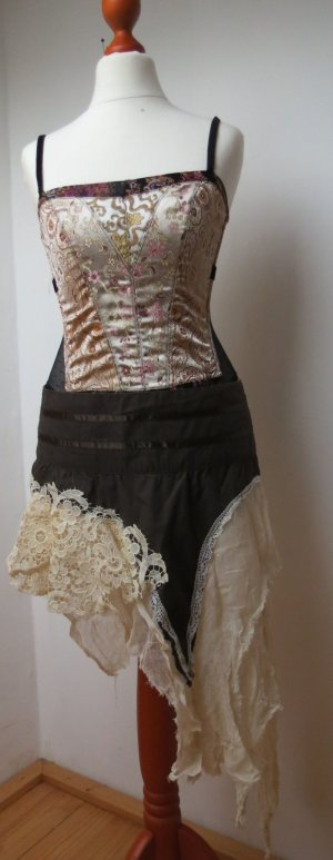 Lace Skirt multicolored cotton