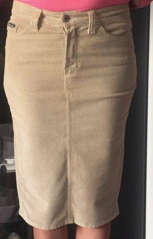 Dolce & Gabbana Falda de tubo beige Algodón
