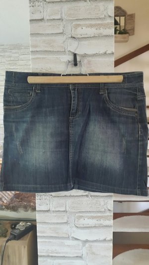 Rock in Denim, Jeans Rock blau Promod, Gr. 38
