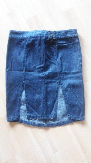 Rock Jeansrock Bleistiftrock Rockabilly Pencil Skirt