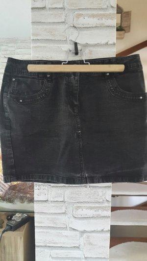 Rock Jeansrock schwarz