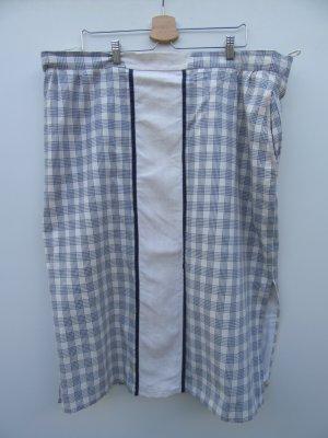 Vintage Maxi Skirt steel blue