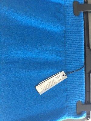 10 Days Midi Skirt neon blue merino wool