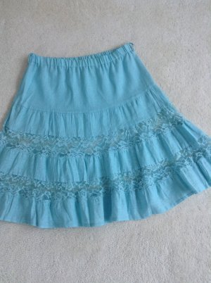 Lace Skirt light blue