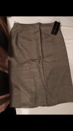 Apart Falda midi marrón grisáceo-taupe