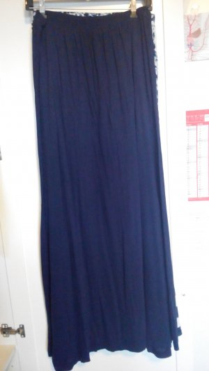 H&M Tulip Skirt dark blue