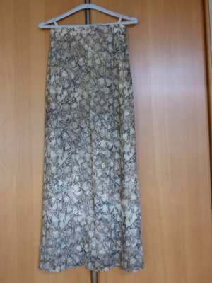 Rock lang in Reptilien-Print