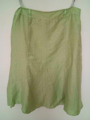 Gerry Weber Falda de lino verde pradera-verde claro Lino