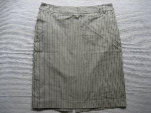 rock mango mng suit bleistiftrock beige buero gr. s 36 neu