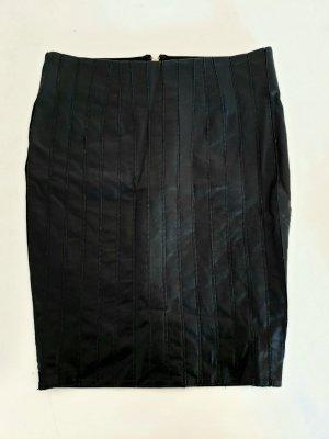 Silvian heach Jupe en cuir synthétique noir