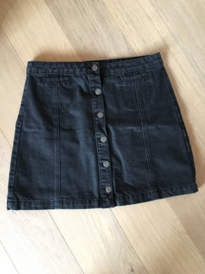 FB Sister Gonna di jeans nero-antracite