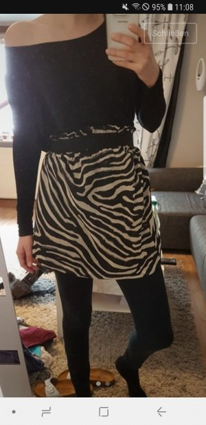 Rock mit Animalprint
