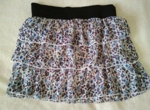 Clockhouse Broomstick Skirt multicolored