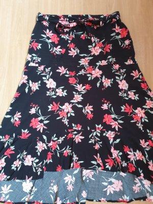 H&M Asymmetry Skirt multicolored