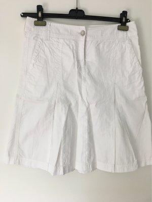 Tom Tailor Jupe à plis blanc