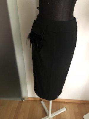 Apart Falda midi negro