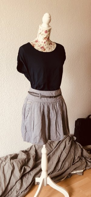 Promod Balloon Skirt grey