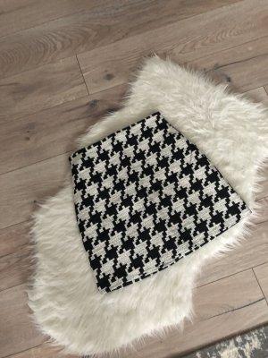 H&M Gonna circolare nero-bianco
