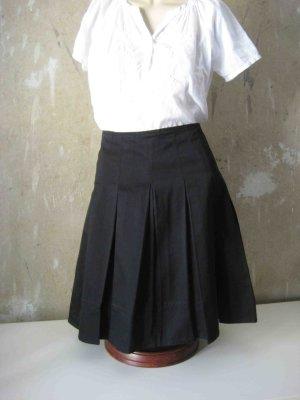 H&M Jupe à plis noir coton