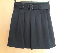 Mexx Falda de tafetán negro