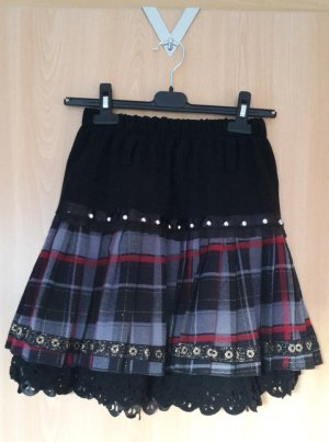 Plaid Skirt multicolored