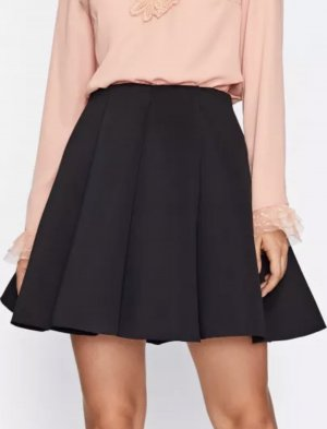 SheIn Pleated Skirt black