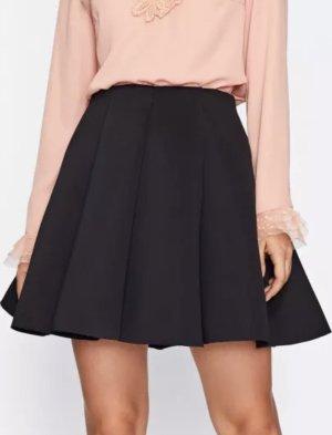 SheIn Pleated Skirt black