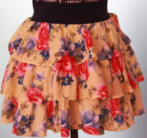 Broomstick Skirt multicolored