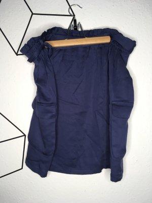Janina High Waist Skirt steel blue
