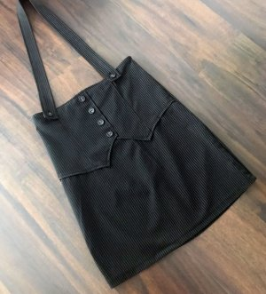 Pinafore skirt anthracite-black