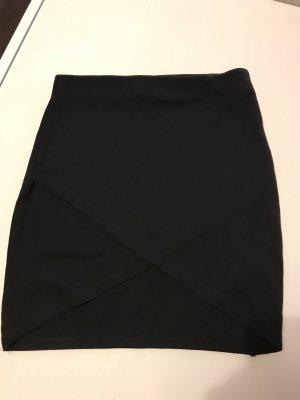 Gina Tricot Stretch rok zwart Viscose