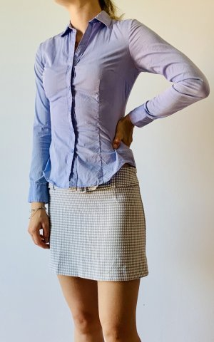Orsay Wool Skirt white-silver-colored polyester