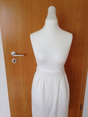 Hallhuber Lace Skirt white