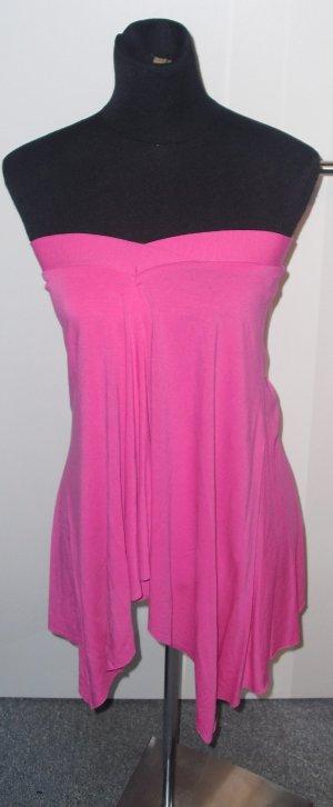 Rock oder Bandeau-Top Pink