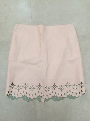 Orsay Faux Leather Skirt pink