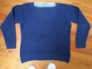 Prada Milano Pullover aus Cashmere und wolle, IT 42, D 36/38, blau, jeansblau, himmelblau
