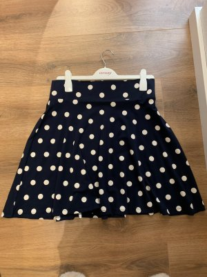 Montego Tulip Skirt dark blue-white