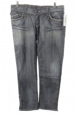 Rock & Republic 7/8 Jeans graublau Washed-Optik