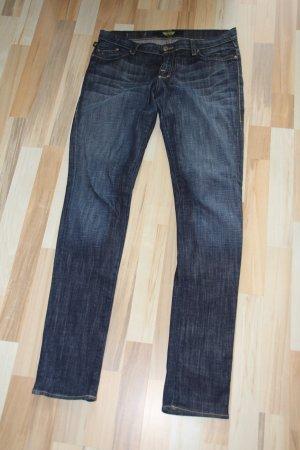 Rock & Republic Blue-Jeans mit goldenem Skull-Detail auf den Gesäßtaschen