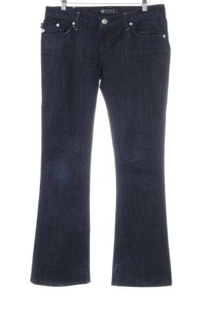 Rock & Republic Boot Cut Jeans neon blue casual look