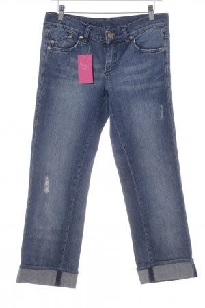 Rock & Republic Boot Cut Jeans blau Glitzer-Optik
